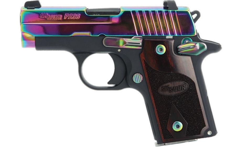 P238 RAINBOW 380ACP WITH NIGHT SIGHTS