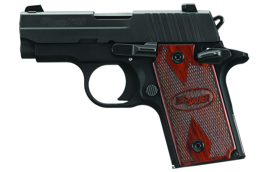 SIG SAUER P238 ROSEWOOD 380ACP WITH NIGHT SIGHTS