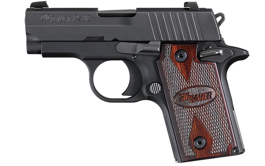 P938 ROSEWOOD 9MM AMBI WITH NIGHT SIGHTS