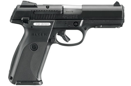 RUGER SR9 FULL-SIZE 9MM BLACK NITRIDE PISTOL