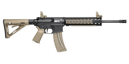 SMITH AND WESSON MP15-22 22LR MAGPUL MOE RIFLE (FDE)