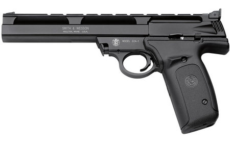 SMITH AND WESSON 22A 22LR 7-INCH WITH ADJ. TARGET SIGHT
