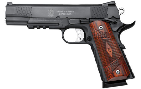 SMITH AND WESSON SW1911TA E-SERIES 45ACP W/ TACTICAL RAIL