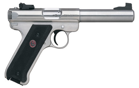 Ruger Mark III 22LR Target Stainless Steel Rimfire Pistol