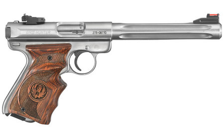 RUGER MARK III HUNTER 22LR W/ WOOD TARGET GRIP