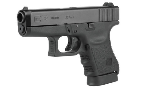 GLOCK 36 45ACP 6RD FIXED SIGHTS (GEN3)