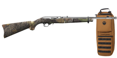 RUGER 10/22 CAMO TAKEDOWN STAINLESS W/ CASE