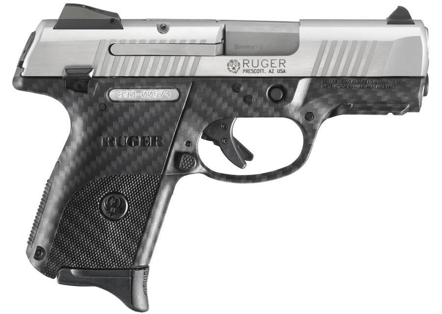 SR9C COMPACT 9MM STAINLESS CARBON FIBER