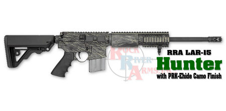 ROCK RIVER ARMS LAR-15 HUNTER WITH PRK-EHIDE CAMO FINISH