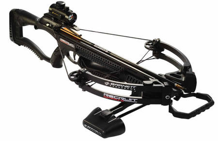 BARNETT Recruit Compound Crossbow with Red Dot Scope