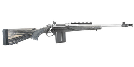 RUGER KM77-GS 308 WIN GUNSITE SCOUT STAINLESS