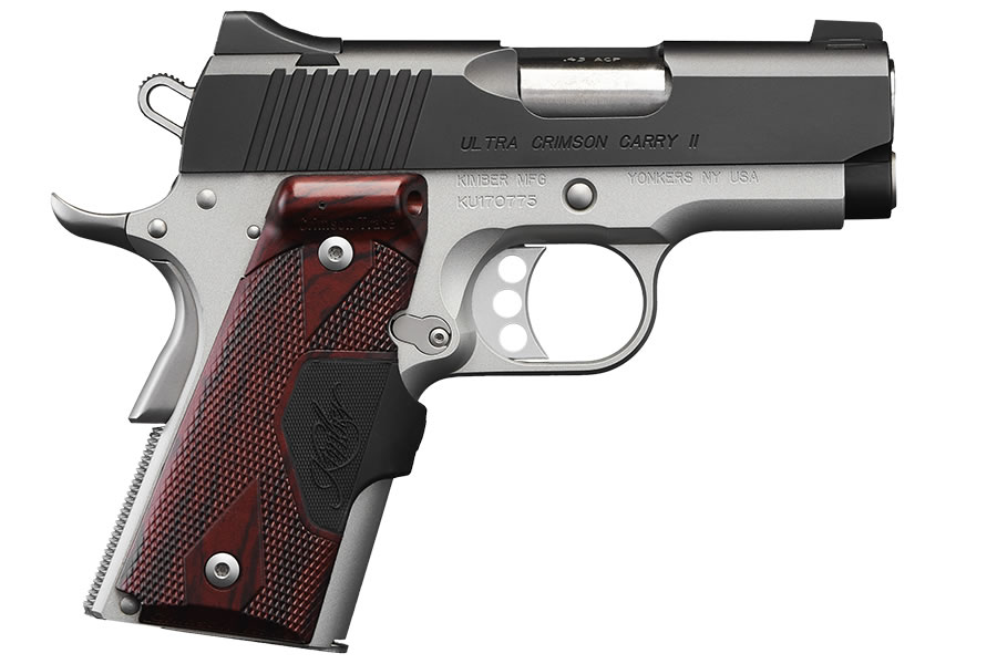 KIMBER ULTRA CRIMSON CARRY II 45ACP RED LASER