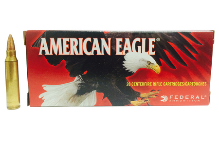 FEDERAL AMMUNITION 223 REM 62 GR FMJ BOAT-TAIL 20/BOX