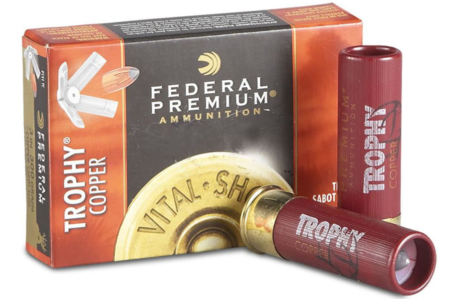12 GA 2-3/4 IN 300 GR TROPHY COPPER VITAL-SHOCK SABOT SLUG