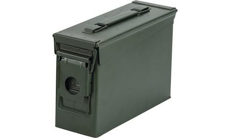 30 CALIBER MILITARY AMMO CAN