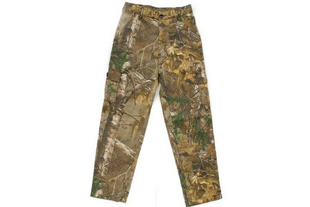 YOUTH CAMO 6 POCKET PANTS