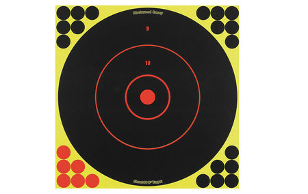 BIRCHWOOD CASEY SHOOT-N-C BULLS-EYE TARGETS 12 IN. 5-PK
