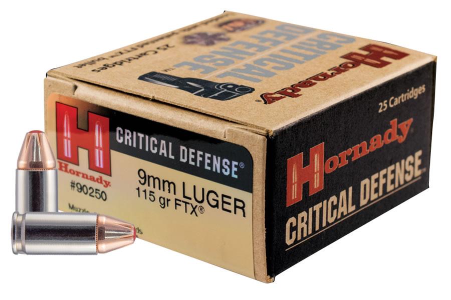 9mm 115 gr Critical Defense 25/Box