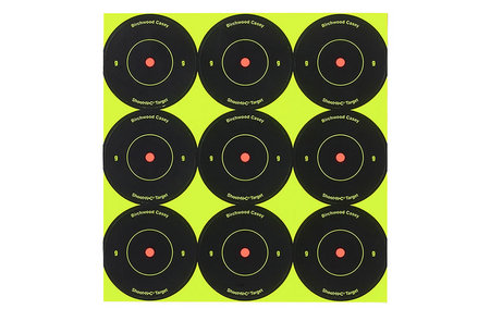 BIRCHWOOD CASEY SHOOT-N-C TARGETS 2 IN.  108-PK