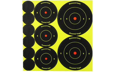 BIRCHWOOD CASEY SHOOT-N-C TARGETS VARIETY PACK 132-PK