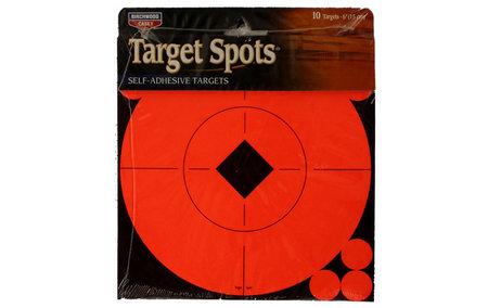 TARGET SPOTS TARGETS 6 IN. 10-PK