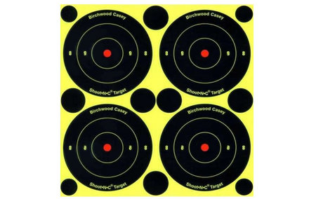 BIRCHWOOD CASEY SHOOT-N-C BULLS-EYE TARGETS 3 IN. 48-PK