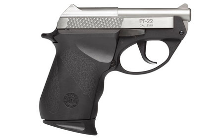 TAURUS PT-22 22LR COMPACT STAINLESS PISTOL