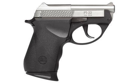 Taurus PT-22 22LR Compact Stainless Pistol