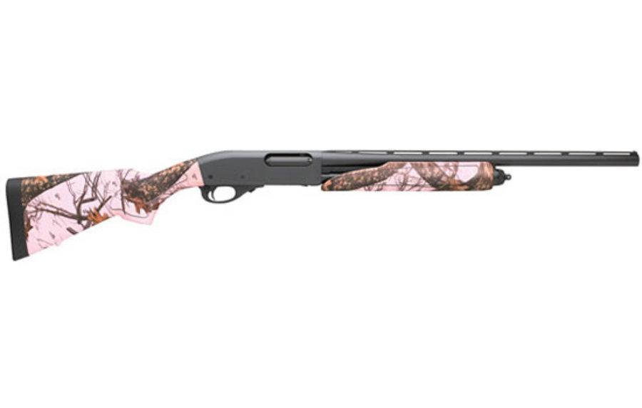 Remington 870 Express Compact 20 Gauge Shotgun With Pink