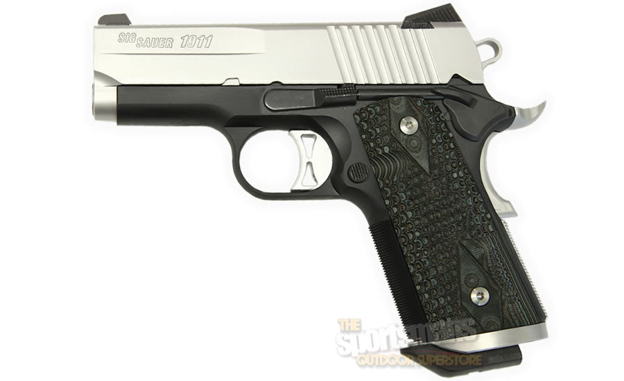 1911 45ACP ULTRA COMPACT W/ G-10 GRIPS