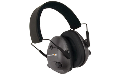 ELECTRONIC FOLDING EARMUFF BLACK 25NRR