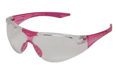 SLIM FIT SHOOTING GLASSES CLEAR/PINK