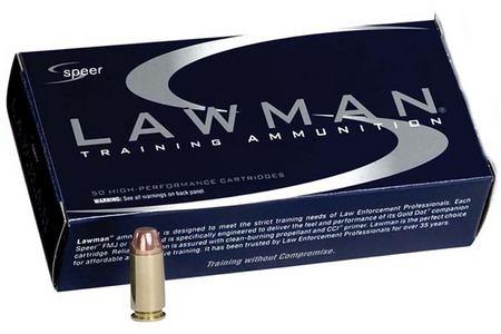 SPEER AMMUNITION 40SW 165 GR TMJ LAWMAN 50/BOX