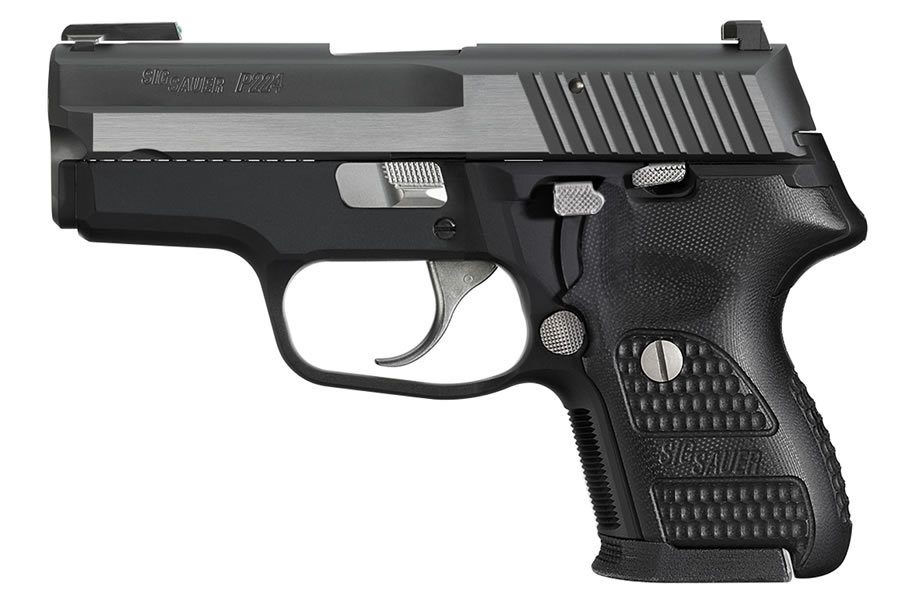 SIG SAUER P224 EQUINOX 40SW WITH NIGHT SIGHTS