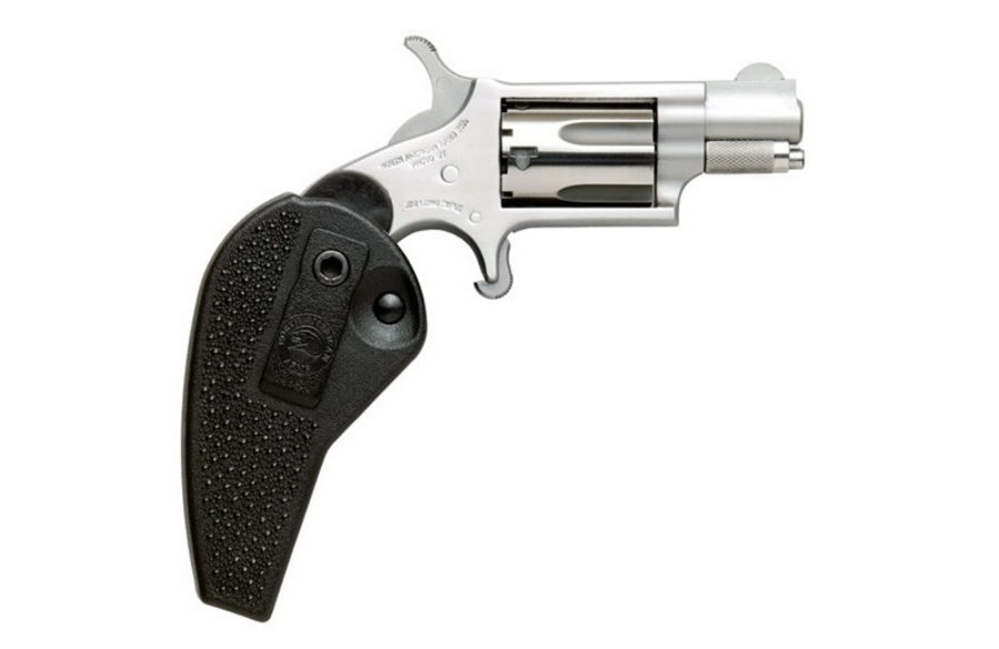 NORTH AMERICAN ARMS 22LR MINI-REVOLVER WITH HOLSTER GRIP