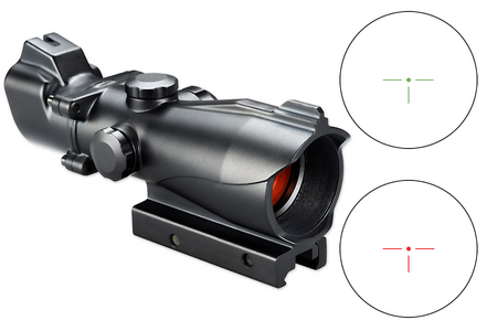 2X MP RED / GREEN T-DOT RETICLE AR-OPTIC