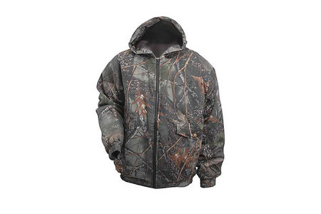 CAMO HOODED WATERPROOF INS JACKET