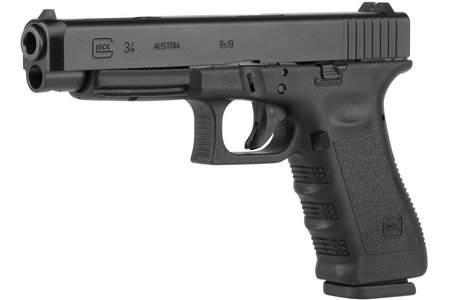 GLOCK 34 9MM 17RD FIXED SIGHTS (GEN 3)
