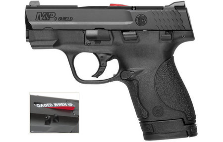 SMITH AND WESSON MP9 SHIELD 9MM PISTOL (CA COMPLIANT)