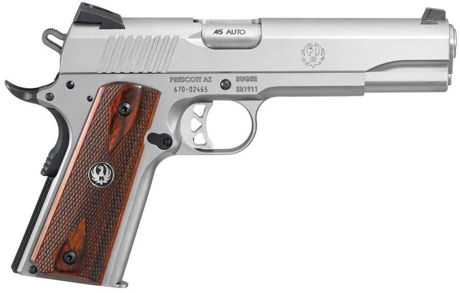 Ruger SR1911 45ACP Stainless Centerfire Pistol | Sportsman ...