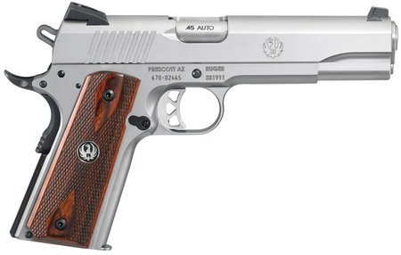 RUGER SR1911 45ACP STAINLESS CENTERFIRE PISTOL