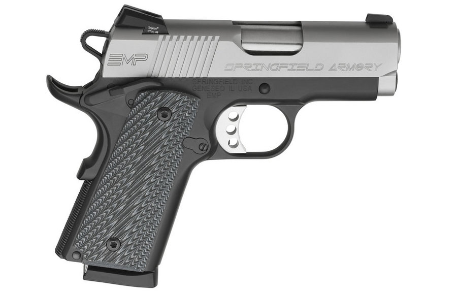 EMP 1911 9MM NIGHT SIGHTS AND G10 GRIPS