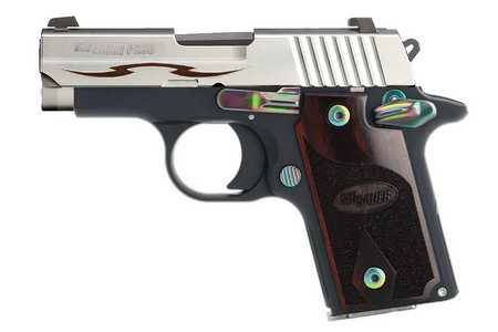 SIG SAUER P238 380ACP ROSEWOOD TRIBAL STAINLESS