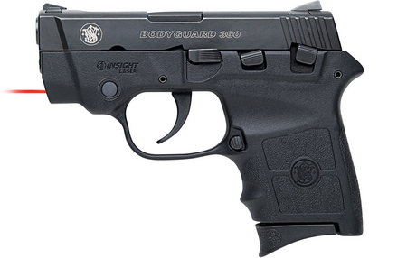 SMITH AND WESSON BODYGUARD 380ACP WITH INSIGHT LASER (LE)