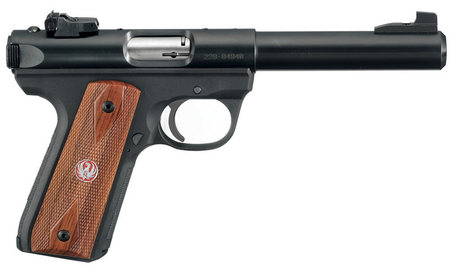 RUGER 22/45 MARK III TARGET 22LR WOOD LAMINATE