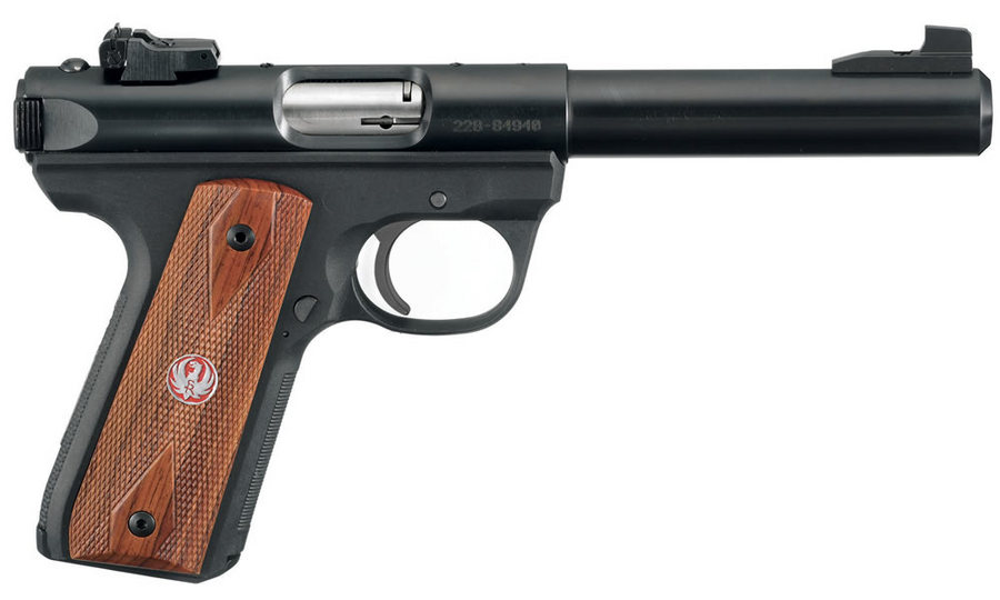 22/45 MARK III TARGET 22LR WOOD LAMINATE