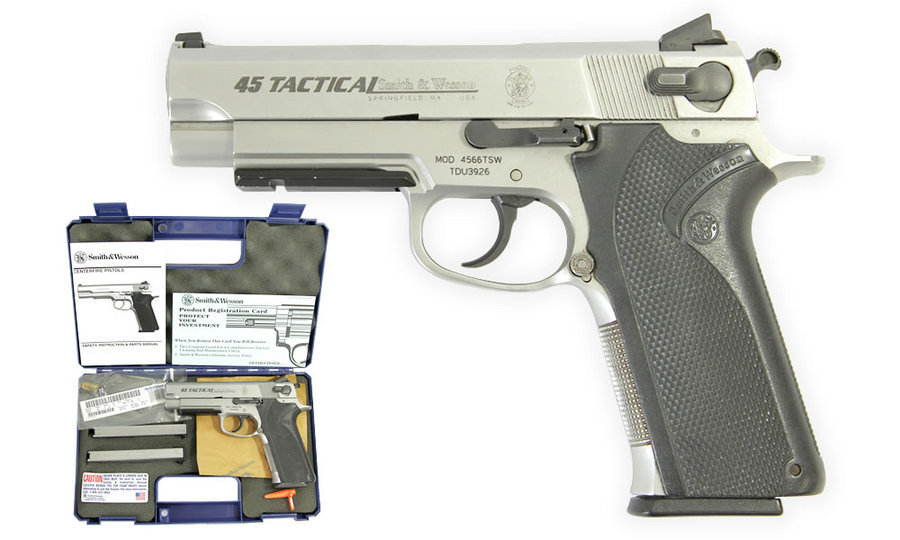 4566TSW .45 AUTO STAINLESS POLICE TRADES