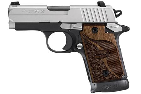 SIG SAUER P938 SAS 9MM WITH NIGHT SIGHTS