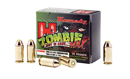 Hornady 45 Auto 185 gr Z-Max Zombie Ammo 20-Round Box