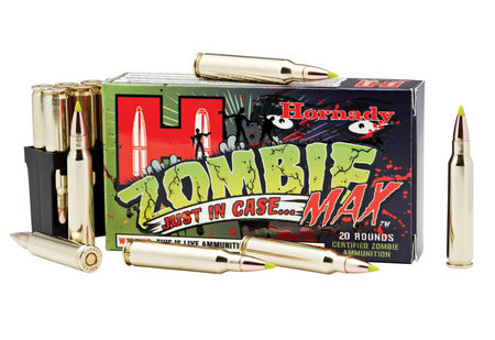 HORNADY 223 Rem 55 gr Z-Max Zombie Ammo 20/Box